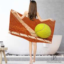 Таможня теннисный мяч(1) тряпка для ванной комнаты полотенце s лицо полотенце/банное полотенце для душа s Размер 33x74 см/72x143 см#18-12-17-05-237