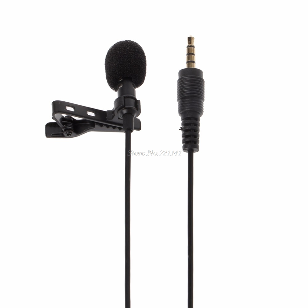 Clip-On Style Omnidirectional Condenser Wired Microphone For Laptop PC Smart Phone Electronics Stocks
