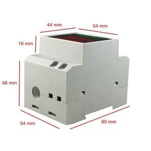 Din-рейка Ватт метр AC 110V 220V 380V 100A амперметр вольтметр Вольт Ампер активный коэффициент мощности время энергия напряжение тока Montior