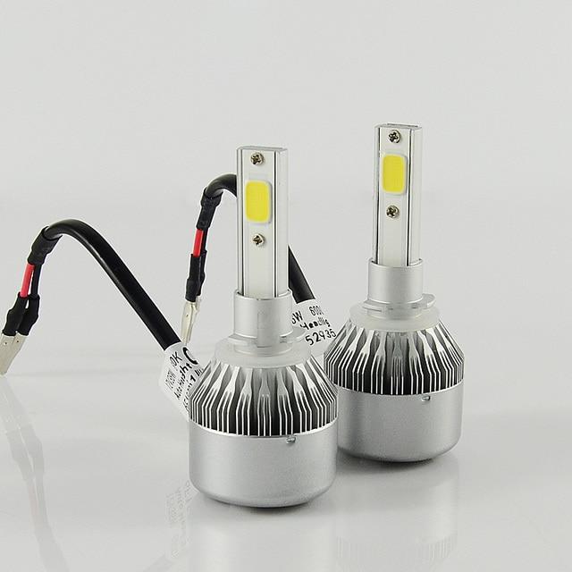 GZTOPHID Car-Styling 2PCS 36W C6 LED12V spot Headlight H1 H3 H4 H7 H8 H9 H11 9005 9006 9004 9007 H13 COB Chip LED Headlight Bulb