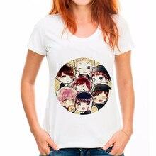 Hot Women Tshirt Cute Fashion Harajuku Danced Unicorn Print Top Shirt White Short Sleeve Vintage O-neck female T-shirt