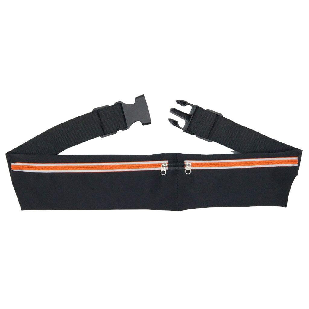Sports Bag Running Waist Bag Pocket Jogging Dual Pocket Running Belt Phone Pouch Waist Bag Sports Travel Fanny Pack Outdoor