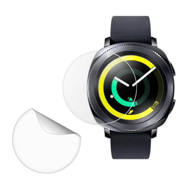 3pcs Soft Ultra Clear Protective Film Guard For Samsung Gear Sport Smart Watch Screen Protector Cover Protection (Not Glass)