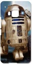 Star Wars R2D2 Robô Tampa do telefone Para HTC one X M7 M8 M9 Para Samsung Galaxy E7 E5 S3 S4 S5 S6 S7 Borda Mais Nota 3 4 5 caso