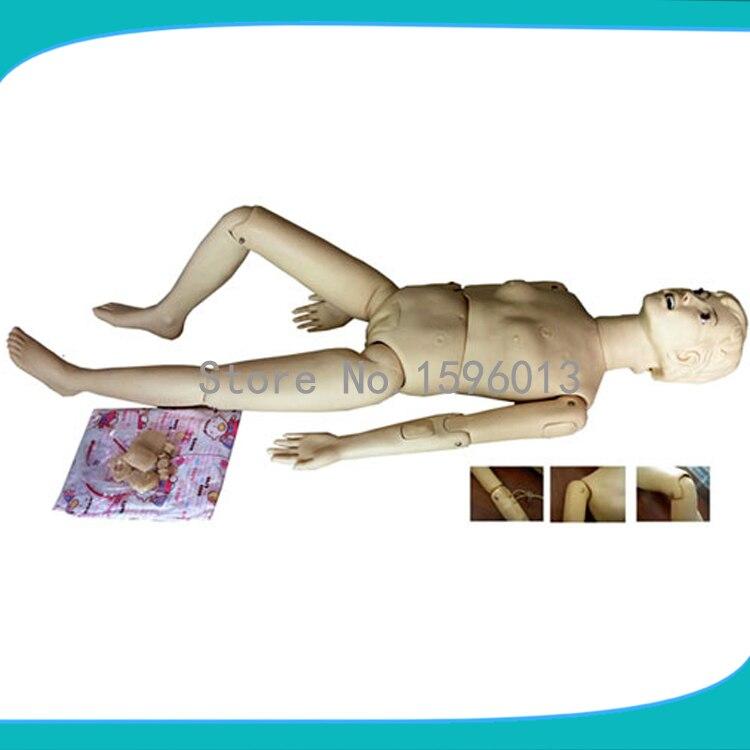 Offres spéciales mannequin de soins infirmiers multifonctionnel de base, mannequin médical de formation infirmière féminine