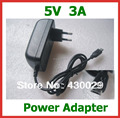 5V 3A Micro USB Charger for Tablet PC Google Nexus 7 Nexus10 U65GT V891W  X98 Air 3G X98 pro Power Adapter Supply Real 3A