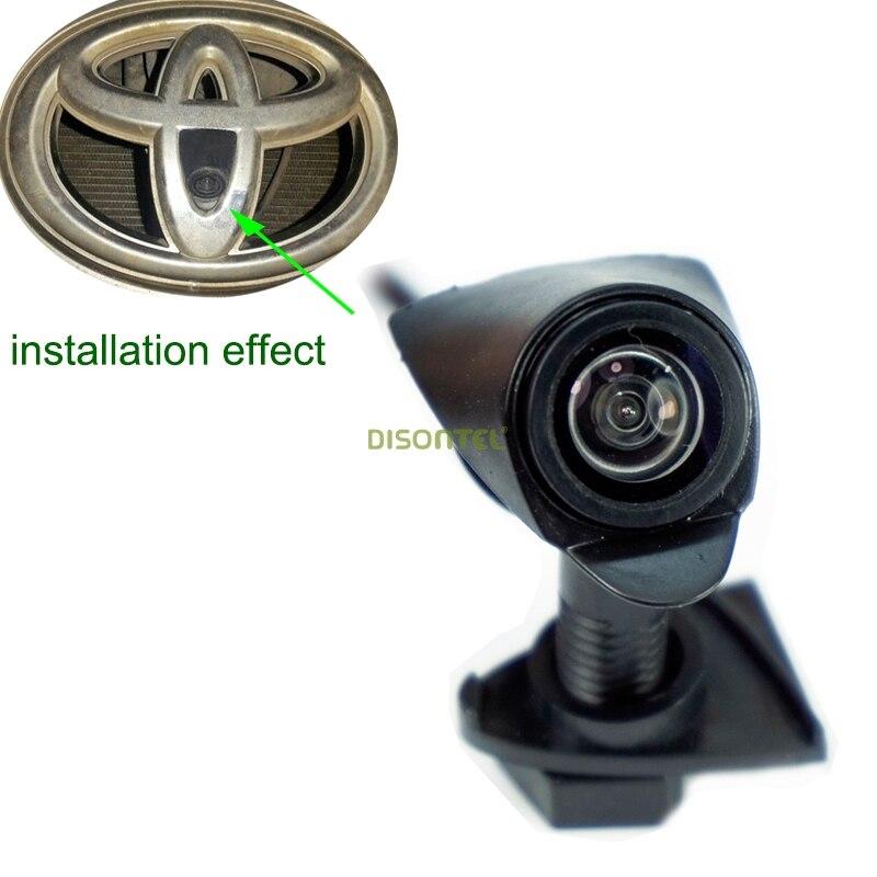 Voiture caméra de parking pour Nouvelle Toyota Highlander Verso EZ RAV4 PRADO LAND CRUISER camry 2015 vue de face caméra