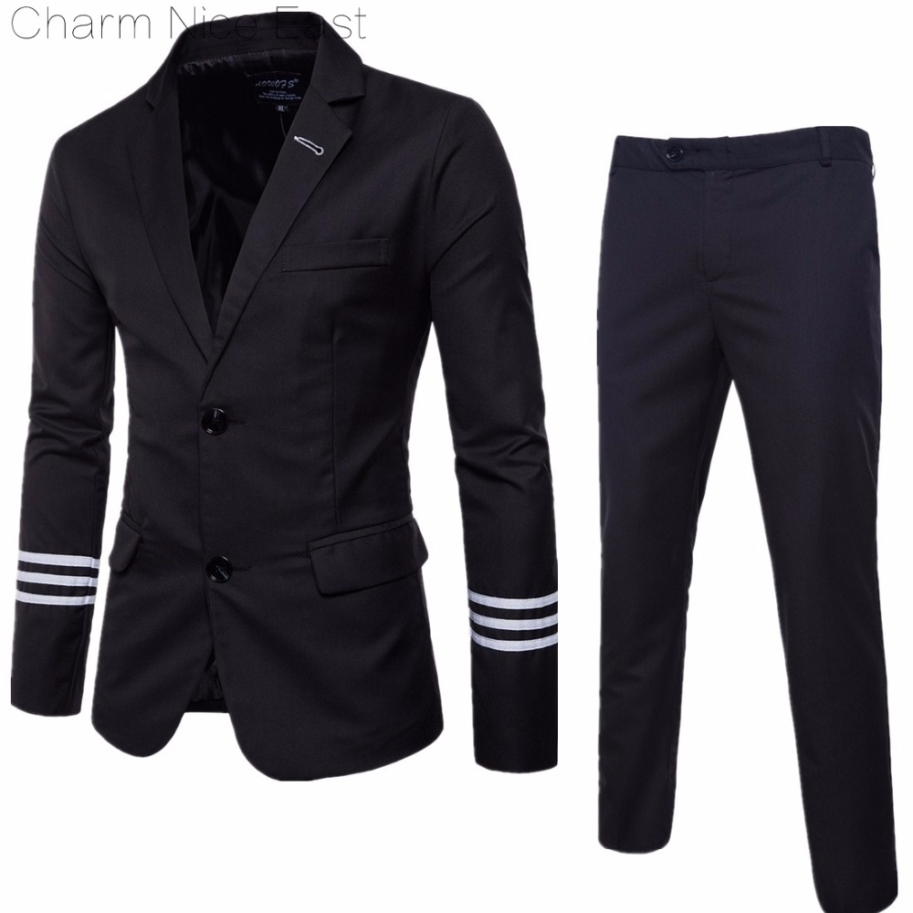 2018 New Fashion Smart Casual Suits Men