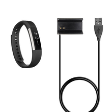 1m USB Charger Cable For Garmin Vivoactive HR Sport GPS Watch USB Charging Clip Cable Accessories P0.3
