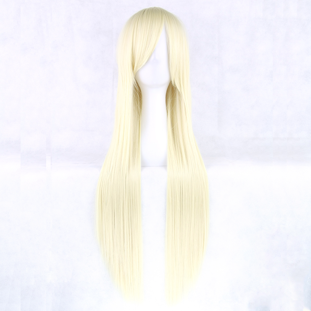 Soowee 24 Colors 32inch Long Straight Women Party Blonde