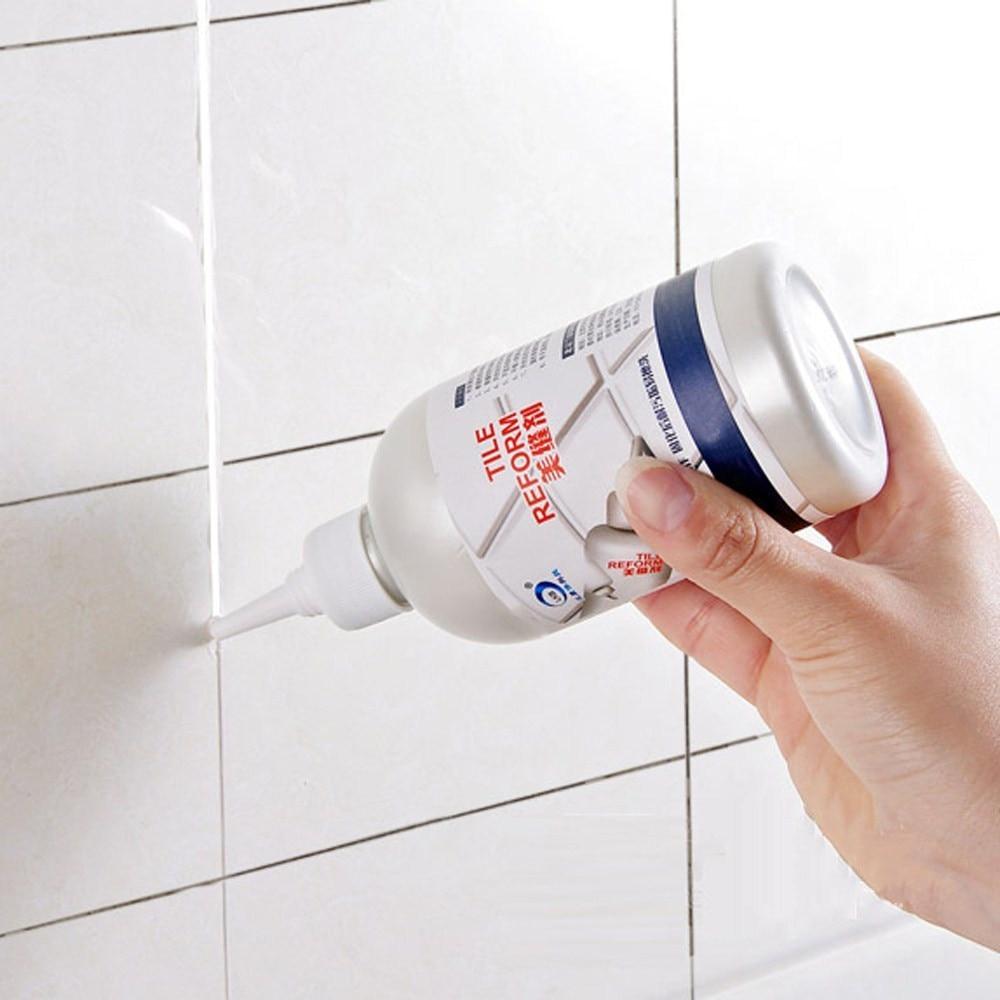 De brecha de recarga agente de reforma de molde limpiador de sellador de reparación pegamento casa decoración pegatinas y carteles Q3