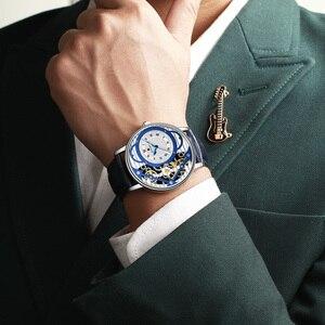 Image 5 - Relogio Masculino New REWARD Watch Men Fashion Skeleton Mens Watch Waterproof Mens Watches Top Brand Luxury Clock Reloj Hombre