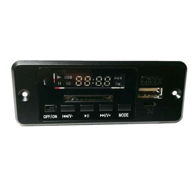 5V Digital <font><b>Bluetooth</b></font> <font><b>MP3</b></font> Decode Board Mit 3W * 2 Verstärker Wiederaufladbare SD FM Radio Mini USB Aux in Auto Verlustfreie Audio <font><b>Modul</b></font> image