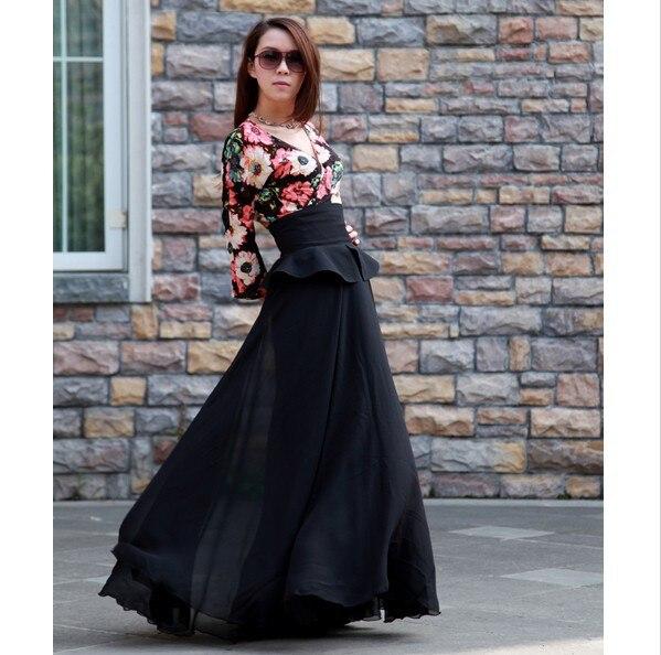 Aliexpress.com : Buy 2016 fashion long denim skirt vintage slim ...