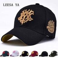 Spring 2017Brand caps man New Cotton Mens Hat NYC Letter Bat Unisex Women Men Hats Baseball Cap Snapback Casual Caps woman