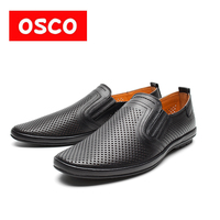 OSCO Factory Direct Spring And Summer New Men Shoes Fashion Men Casual Loafers Breathable Shoes Slip