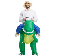 Hot Sell Inflatable Dinosaur Costume Animal Costume Halloween Costume For Man Free Shipping