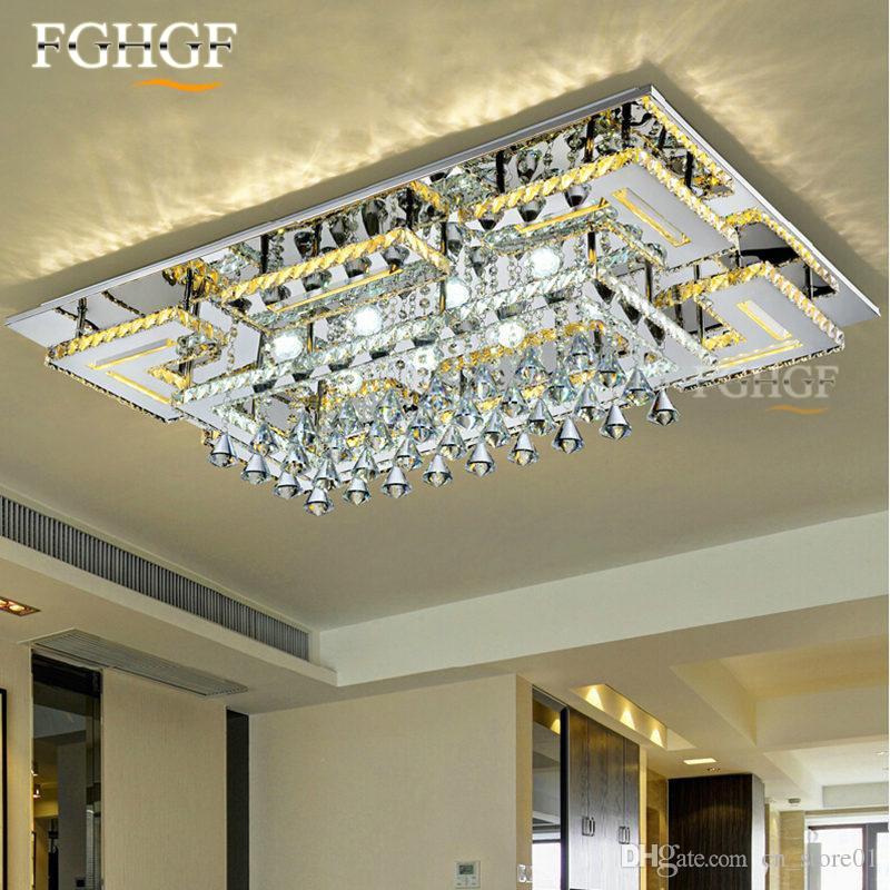 Lumină lampadare cu cristale moderne LED K9 Lustru Lamparas Lamparas - Iluminatul interior