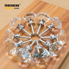 Freeshipping 30mm 8pcs Brand new Quality K9 Clear Crystal Glass Cupboard Handles Diamond Door Knobs Drawer Cabinet Pull SJ-1003