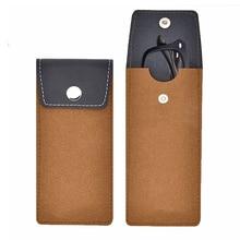 Кожа шерсть войлочные очки сумки футляр для очков портативные солнцезащитные очки сумка для очков Защитный Контейнер футляр для хранения очков N9