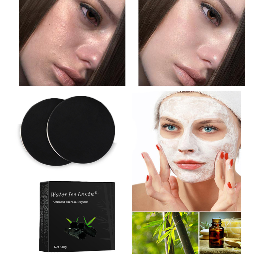 Facial Soap Bamboo Charcoal Soap Skin Care Treatment Skin Whitening Blackhead Remover Acne Treatment Oil Control Soaps