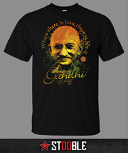 Mahatma Gandhi T-Shirt - Direct from Stockist New T Shirts Funny Tops Tee New Unisex Funny Tops  Shirt gandhi mahatma third class in indian railways