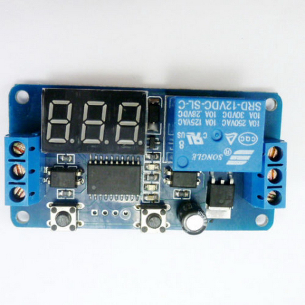 New Arrived Dc 12v Led Display Digital Delay Timer Control