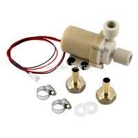 12 V 3 M Güneş Sıcak Su Pompası Sirkülasyon Fırçasız Motor 212 F w/Çoğaltıcı