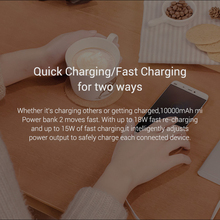 10000mAh Xiaomi Mi Power Bank 2 Quick Charge 18W External Battery bank for Android and IOS Mobile Phones