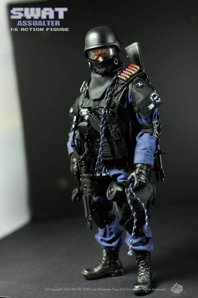 New Free Shipping NEW Arrival SWAT soldier toys military toys SWAT ASSUALTER