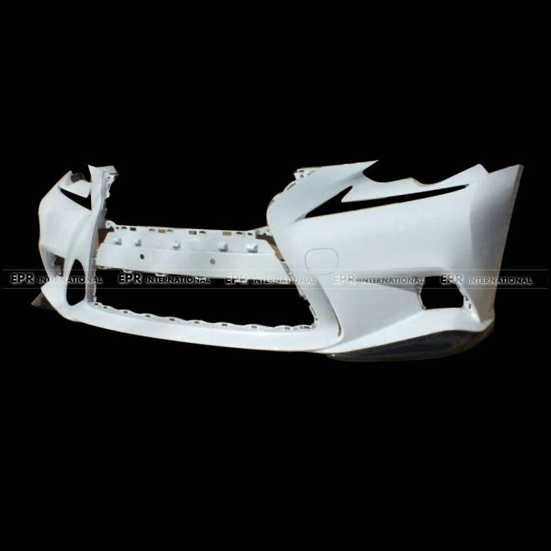 Автомобильные аксессуары для Lexus IS250 IS350 F спортивные 14 16 углеродного волокна JDM Стиль спереди губ 2 шт. Fibre отделкой (F sport передний бампер тольк