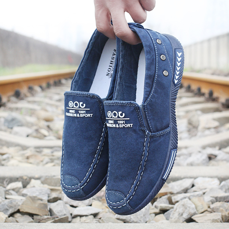 2018 Summer Fashion New Men's Canvas Shoes Zapatos Hombre - Zapatos de hombre - foto 3