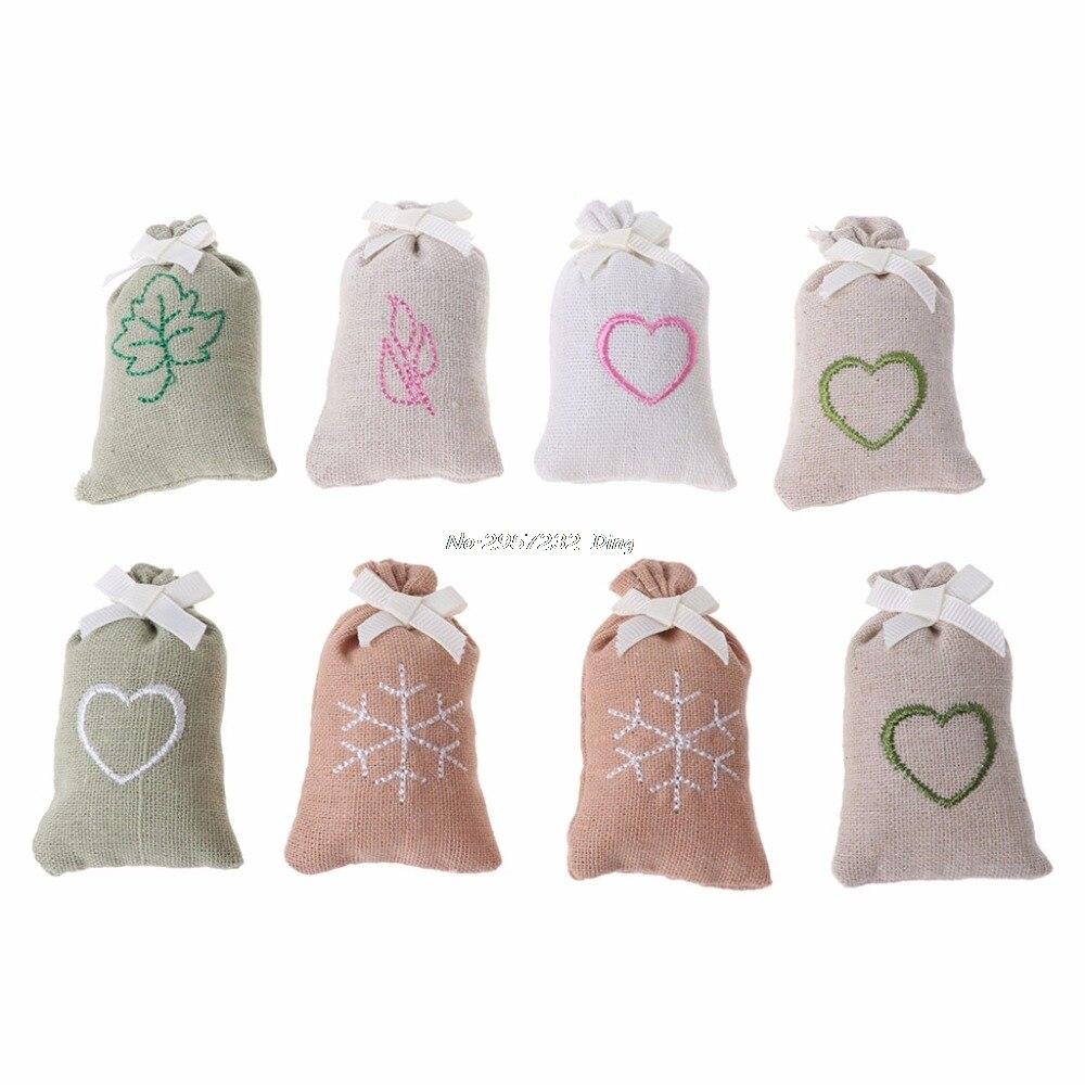Sachet Linen Bag Fragrance Air Freshener Deodorizer For Car Home Room Closet  CHE8