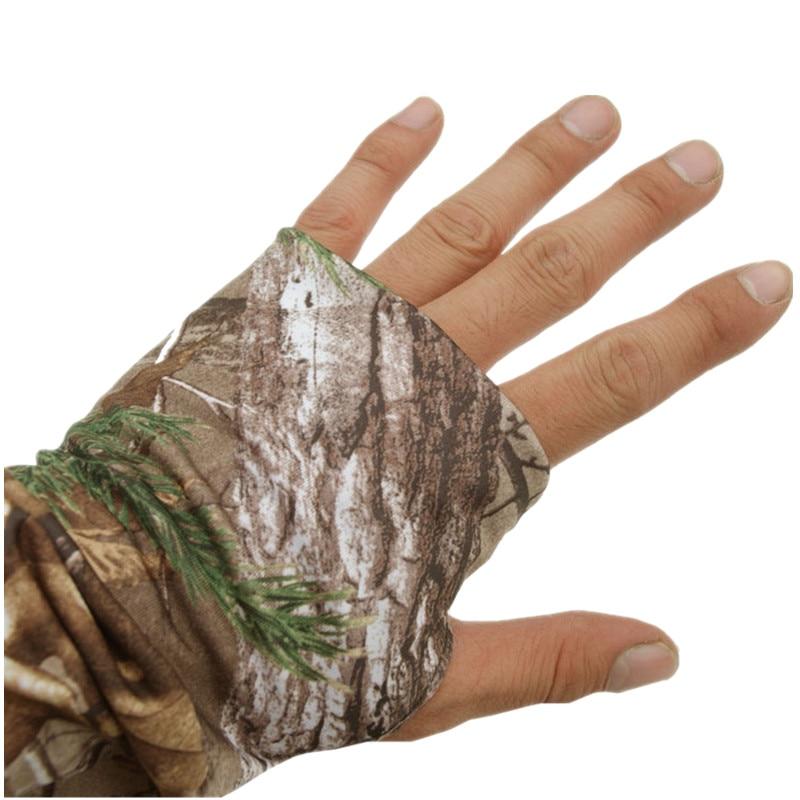 Summer Ultra-Thin Quick-Drying Bionic Camouflage T-Shirt Tops Male Hunting Fishing Hiking Sunscreen Hooded T-Shirts Long Sleeve 3