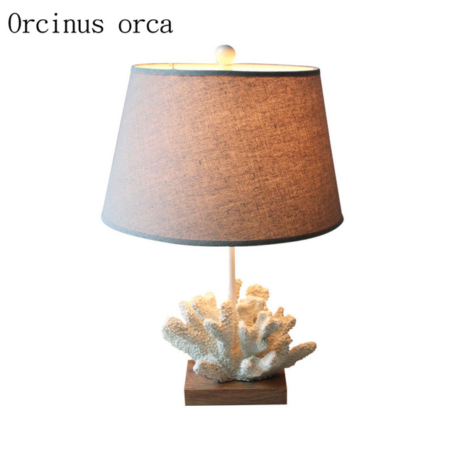 Charmant Mediterranean Creative Coral Table Lamp Childrenu0027s Room Boys And Girls  Bedroom Bedside Lamp Personality Cartoon LED