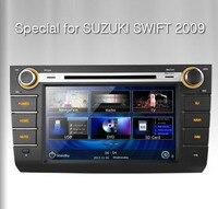 8 2Din Car DVD GPS Navigation Radio Tape Recorder For Suzuki Swift 2009 With Dynamic Interface