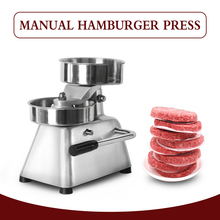 150cm Hamburger Press Machine Manual Meat Poultry Patty Maker for Burger Bakemeat Aluminium Alloy Burger Pie KItchen Tool