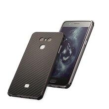 For LG G6 Case New Aluminum Metal Frame+Carbon Fiber Hard Back Cover for Shockproof Phone Shell G 6