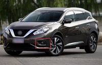 Exterior Accessories Front Fog Light Lamp Cover Trim for Nissan Murano 2015 2018