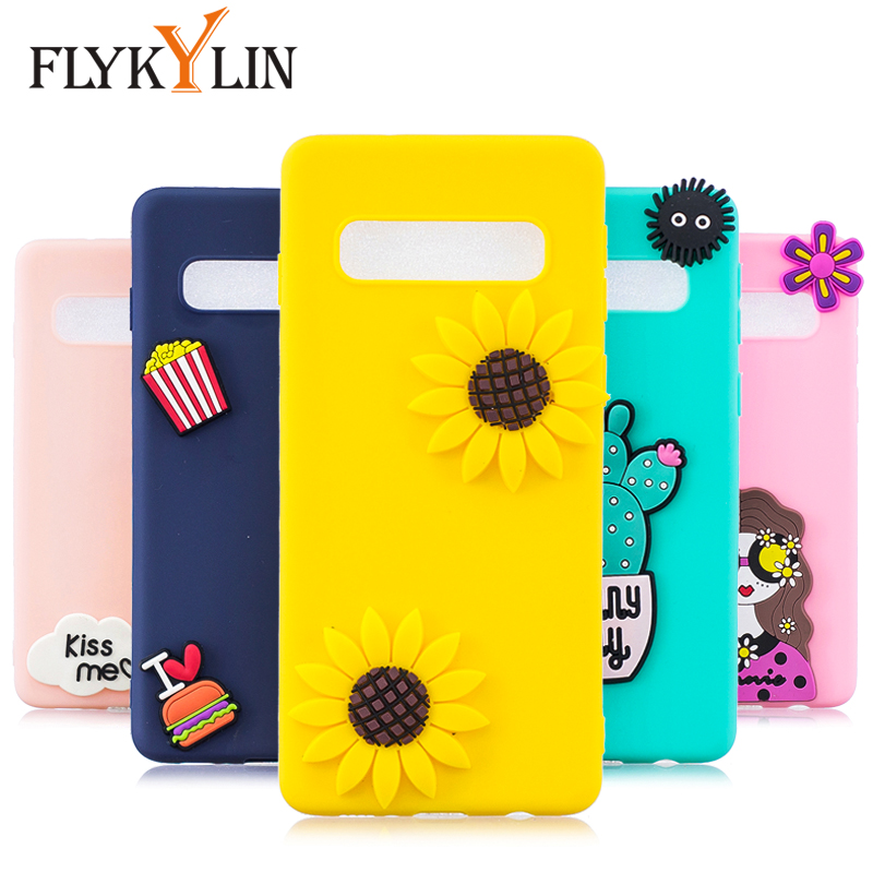 Cellphones & Telecommunications The Cheapest Price Flykylin Cartoon Case For Samsung Galaxy S10 S10 S10e S9 S8 Plus S6 S7 Edge Cases Soft Tpu Silicone Cover 3d Doll Toys Coque Good Companions For Children As Well As Adults