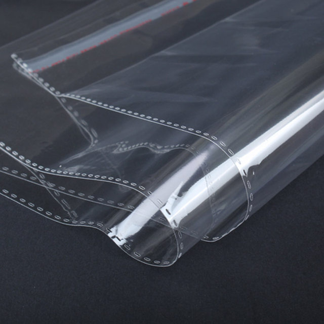 2c9a75077a1 Wholesale 100pcs 32x34cm Clear Plastic Bag Resealable Poly Bags Self  Adhesive Seal Opp Bag Clothing Gift Packaging Bag