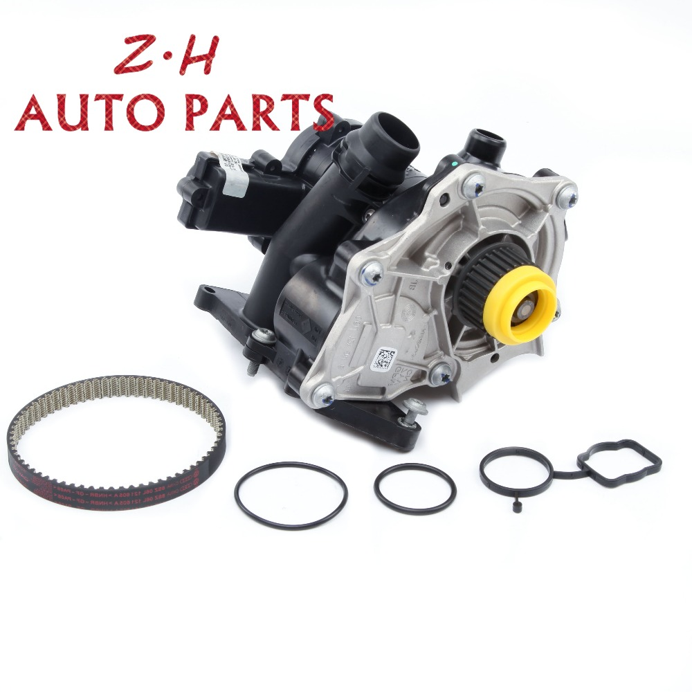 NEW Electronic Water Pump Timing Belt Kit 06L 121 111 F For VW Golf MK7 Passat