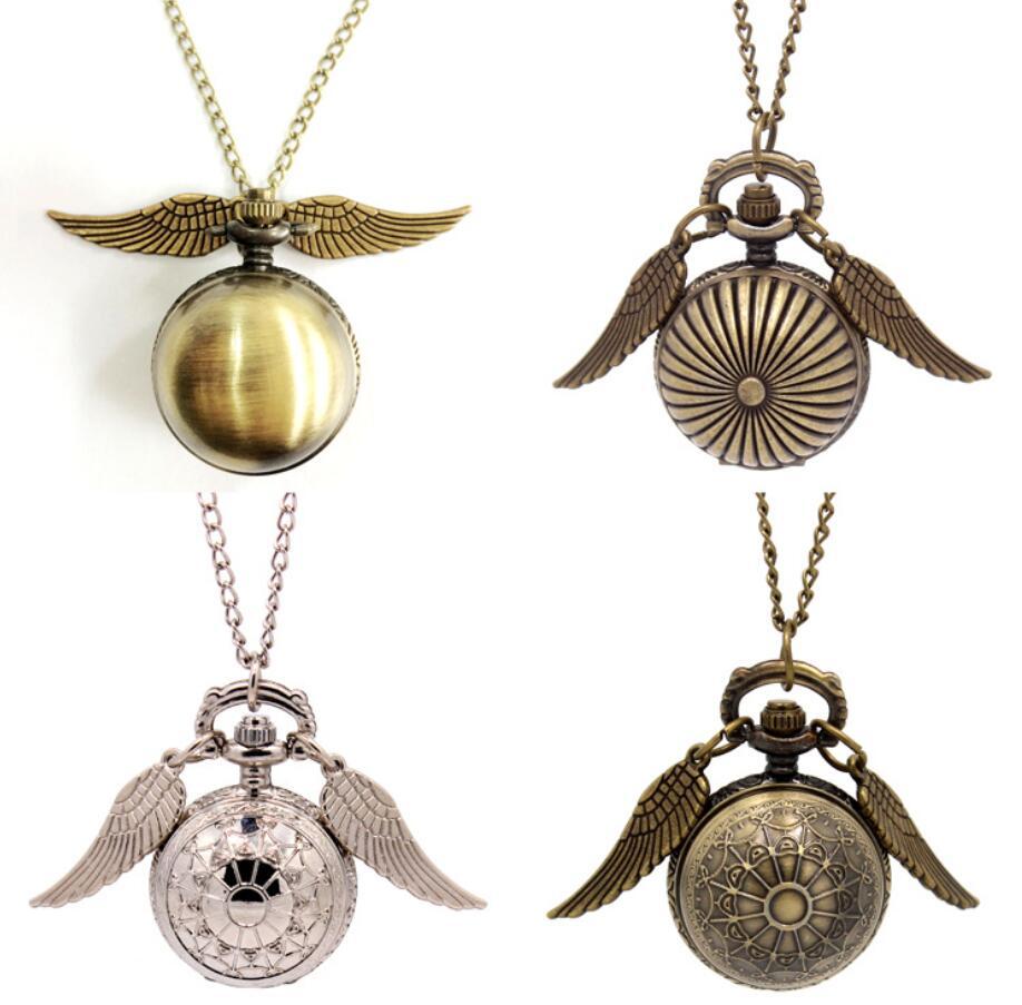 Collar Quidditch Niños Hermione Mosca Ladrón Reloj Bolsillo Bola Juguete De Snitch Juguetes Oro Metal Dorada 9ED2IWeHYb