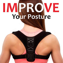 Adjustable Back Support Posture Corrector Women/Mens Medical Corset Therapy Brace Belt