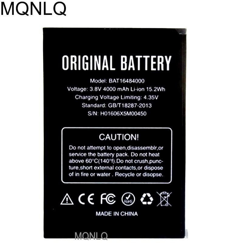 4000 mAh Para X5 X5 MAX Bateria Para DOOGEE DOOGEE MAX Pro MQNLQ Batterie Bateria de Alta Qualidade