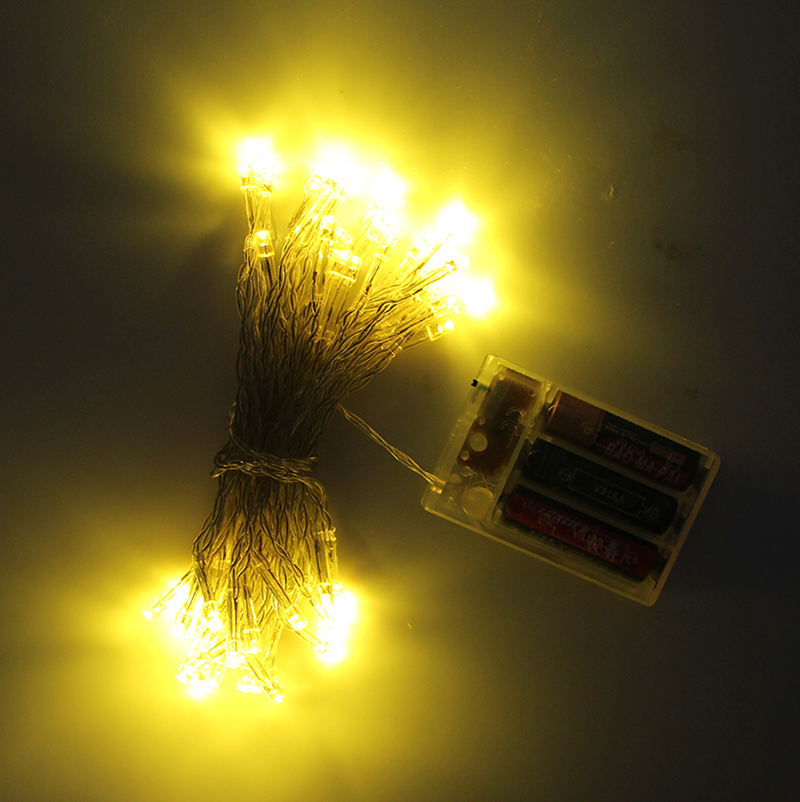 3M 4M 5M 10M LED String Light Starry Fairy Lights Battery Operated for Festival Holiday Christmas Halloween New Year Decoration