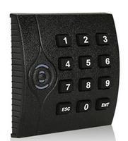 Libere la nave de dhl, ZK lector de RFID teclado, ID/em lector de tarjetas, 125 K, para el control de acceso WG26 salida, negro color de 2 LED, sn: KR202, min: 20 unids