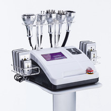 2019 newest 8 in 1 Lipo Laser+ Cation+RF+Vacuum/ RF 40K Cation Vacuum Lipolaser Slimming body weight loss Machine