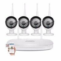 ANNKE 960P HD Wi Fi Home Video Surveillance System 1 3MP 4CH Wireless NVR CCTV System