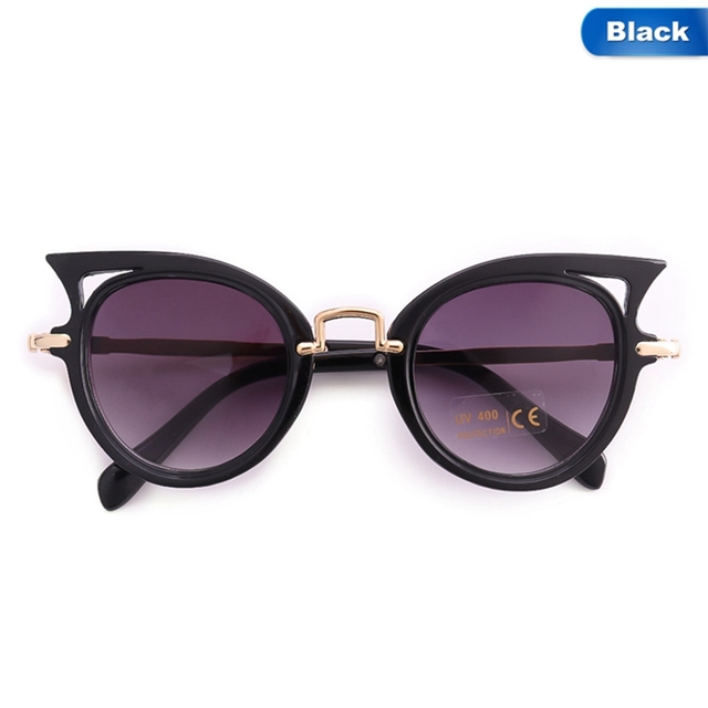 9d6a2bc95d9 Baby Sun glasses 7 Colors Girls Brand Children Glasses Cute Eyewear Shades Goggles  Cat Eye New Kids Sunglasses Boys UV400 Lens